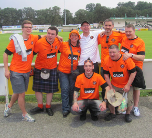 Rapid Wien Dundee United Bad Wimsbach 2012