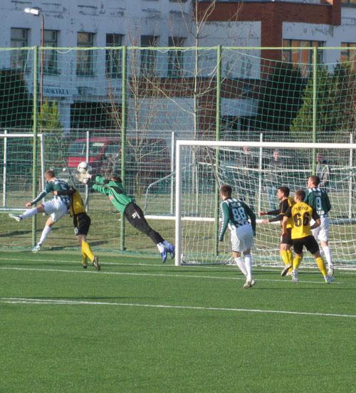 FC Šiauliai - Žalgiris Vilnius 2:2 (2:1)